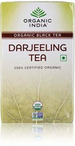 Organic India Darjeeling Tea, 18 Tea Bags