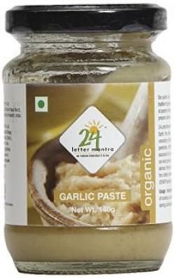 24 Mantra Organic Garlic Paste, 140g