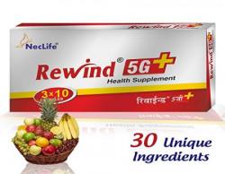 Neclife Rewind 5G (1x10 capsules) Pack of 3.