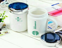 Starbucks Coffee Ceramic Mug 360 ml (1 Piece Random Color)