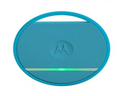 Motorola Connect Coin with Selfie Button and Key/Phone Finder (Blue)
