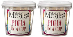 Moving Meals Poha in a Cup Combo, 100g (Pack of 2)