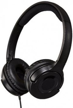 AmazonBasics On-Ear Headphone (Black)
