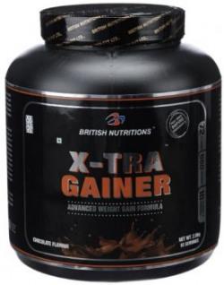 British Nutrition X-Tra Gainer - 2.5 kg (Chocolate)