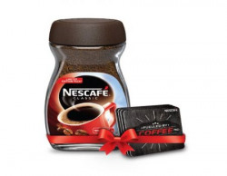 Nescafe Classic Instant Coffee, 200g with Free 4 Coasters
