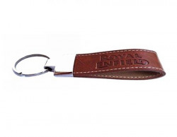 BikenWear Leather Key Ring for Royal Enfield