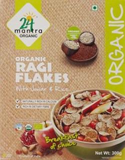 24 Mantra Organic Ragi Flakes, 300g