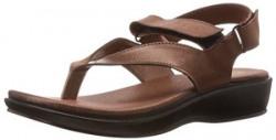 Ziva Fashion Women's ZFF 157 Copper Fashion Sandals - 6 UK (ZFF 157)