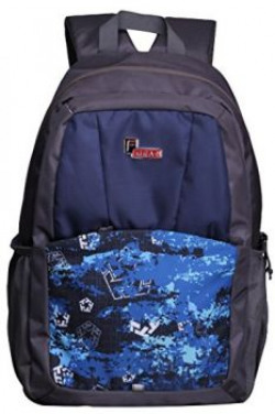 F Gear Campus 29 Liters Laptop Backpack (Navy Blue, Grey)