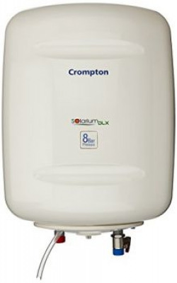 Crompton Solarium DLX SWH815 15-Litre Storage Water Heater (Ivory)