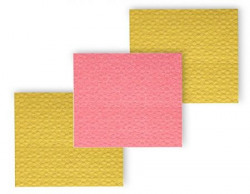 Scotch-Brite Sponge Wipe (Large, Pink & Yellow, Pack of 3)