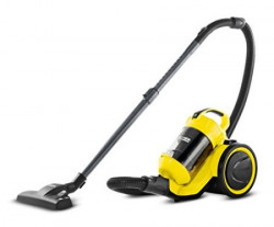 Karcher VC 3 0.6 – Litre Bagless Dry Vacuum Cleaner (Yellow)