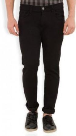 Highlander Slim Men's Black Jeans