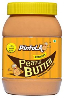 Pintola Peanut Butter 1 Kg Value Pack (Crunchy)
