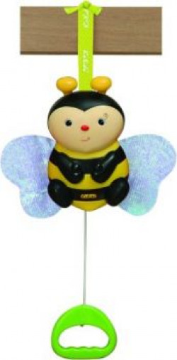 K's Kids Pull N Move Musical Pals - Clever Bee
