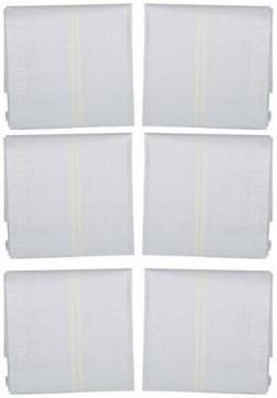 Krystle Men's Cotton Handkerchief (Pack of 6)