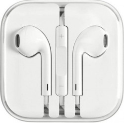 Oxhox Earphones/Earbuds/Handfree Stereo Dynamic Headphone Wired Headphones  (Off White, In the Ear)