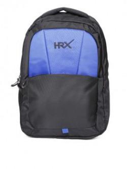 HRX by Hrithik Roshan Unisex Black Laptop Backpack