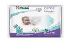 Himalaya Herbals Gentle Baby Wipes (24 Sheets)