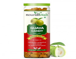 Nourish Vitals Guava Dried Fruit (Dehydrated Fruits) - 200 gm
