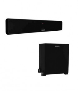 Philips Dsp475u Soundbar (with Wired Subwoofer)