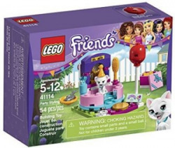 Lego Friends party_supplies_supplies Styling