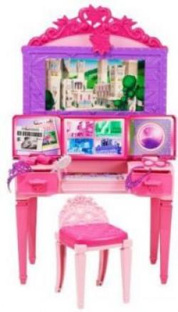 Barbie Princess PWR VNTY PLYST CDY64