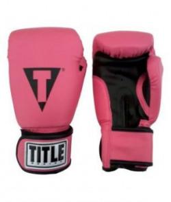 Aurion BOXIG-878 Leather Boxing Gloves (Black)
