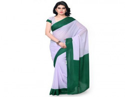 Janasya Georgette Saree (Jne1080-Green-Sr-Colpln102_Green)