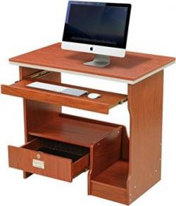 Royal Oak Acacia Computer Table (Chocolate)