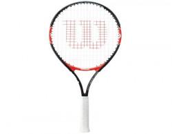 Wilson Roger Federer 25 Aluminum-Alloy Tennis Racquet, 4 1/2inches
