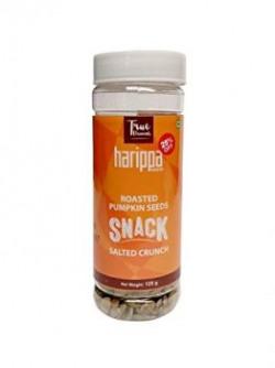 Roasted Salted Pumpkin Seeds Snack 125gm by Harippa