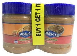 Abbie's Crunchy Peanut Butter, 340g (Buy 1 Get 1 Free)