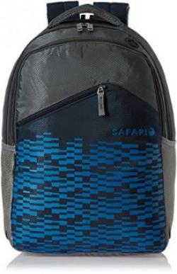 Safari 30 ltrs Laptop Backpack (Soundwave-Blue-LB)