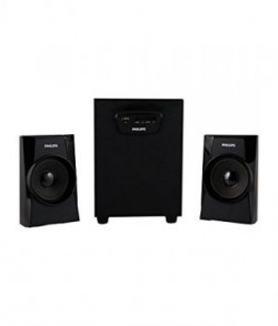 Philips MMS-1400 2.1 Multimedia Speaker System (Black)
