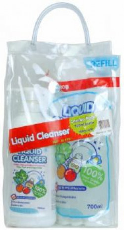 Pigeon Combo Pack of Liquid Cleanser (700ml Bottle + 700ml Refill)