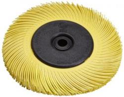 Scotch-Brite 61500189172 Radial Bristle Brush Replacement Disc T-C 80 Refill, Aluminium Oxide, 6000 RPM, 6  x 1 , Yellow, Pack of 40 - Set of 2