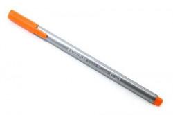 Staedtler 334-4 Triplus Fineliner Tip Pen - Orange- Pack of 10