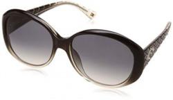 Tommy Hilfiger Oval Sunglasses (Black) (TH-7929 BLACK GRAD 56)