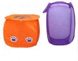 Kuber Industries 20 L Multicolor Laundry Basket