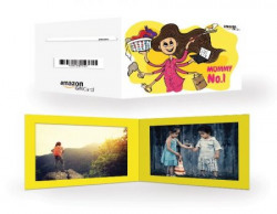 Amazon.in Gift Card - Gifts for Mom   Photo frame - Mummy No. 1 - Rs.1000