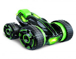 Toys Bhoomi Shock Absorbing 5-Wheeled 6CH 2-sided Extreme RC Stunt Race car