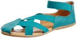 Bata Women's Lauren Green Fashion Sandals - 7 UK/India (40 EU) (5517028)
