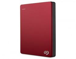 Seagate Backup Plus Slim 1TB Portable External Hard Drive & Mobile Device Backup (Red)