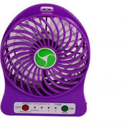 Shrih Portable Mini Rechargeable Battery Operated SH-1102 USB Fan