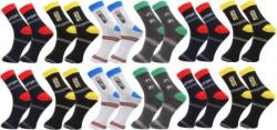 Zacharias Men's Ankle Length Socks  (Pack of 12)
