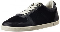 Björn Borg Men's X100 Low Sue M Black and Off-white Leather Sneakers - 6.5 UK