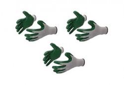 Klaxon Safety Nylon Anti cut, cut resistant hand GlovesI (3 pair)