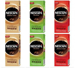 Nescafe Ready To Drink Pack, 180ml each (Pack of 6)
