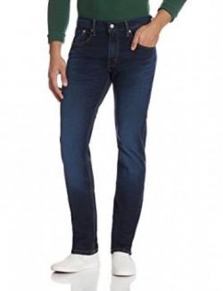 Levi's Men's 65504 Skinny Fit Jeans (6901163021632_65504-0304_32W x 34L_Blue)